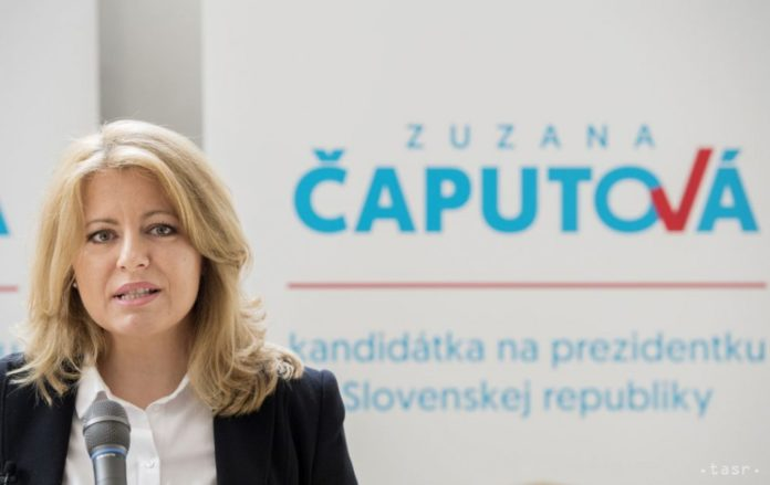 caputova and mistrik to support one another based on opinion polls